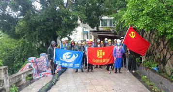 """抗击台风""""卢碧"""",福建巨铸集团应急抢险救援队在行动!"""